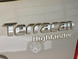 2005 Hyundai Terracan HP MY05 Highlander Silver 5 Speed Manual Wagon