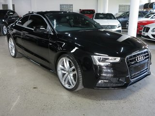 2016 Audi A5 8T MY16 S Tronic Quattro Black 7 Speed Sports Automatic Dual Clutch Coupe.