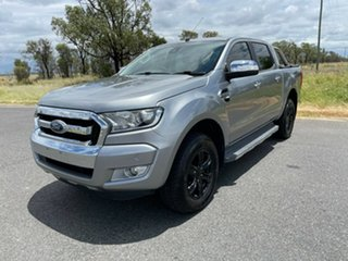 2015 Ford Ranger PX MkII XLT Double Cab Aluminium 6 Speed Sports Automatic Utility