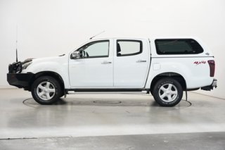 2014 Isuzu D-MAX MY14 LS-U Crew Cab White 5 Speed Manual Utility.