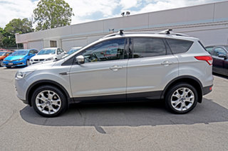 2013 Ford Kuga TF Trend PwrShift AWD Silver 6 Speed Sports Automatic Dual Clutch Wagon