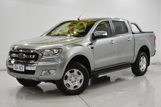 Used Ford Ranger PX MkII XLT Double Cab Brooklyn, 2016 Ford Ranger PX MkII XLT Double Cab Silver 6 Speed Sports Automatic Utility