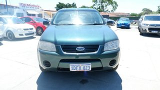 2006 Ford Territory SY TX Green 4 Speed Sports Automatic Wagon