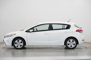 2018 Kia Cerato YD MY18 S White 6 Speed Sports Automatic Hatchback.