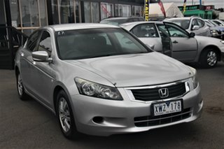 2008 Honda Accord 8th Gen VTi Silver 5 Speed Sports Automatic Sedan.