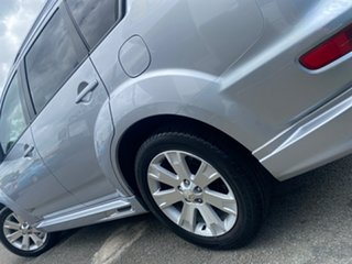 2010 Mitsubishi Outlander ZH MY10 RX Cool Silver (Metallic) 6 Speed Constant Variable Wagon