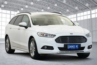 2018 Ford Mondeo MD 2018.25MY Ambiente White 6 Speed Sports Automatic Dual Clutch Wagon.