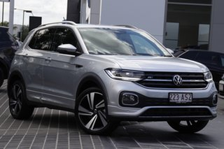2020 Volkswagen T-Cross C1 MY21 85TSI DSG FWD Style Reflex Silver 7 Speed.