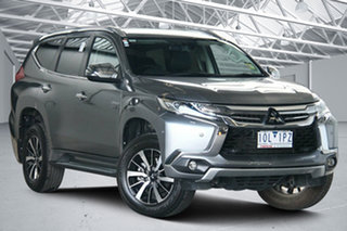 2018 Mitsubishi Pajero Sport QE MY18 Exceed Grey 8 Speed Sports Automatic Wagon.