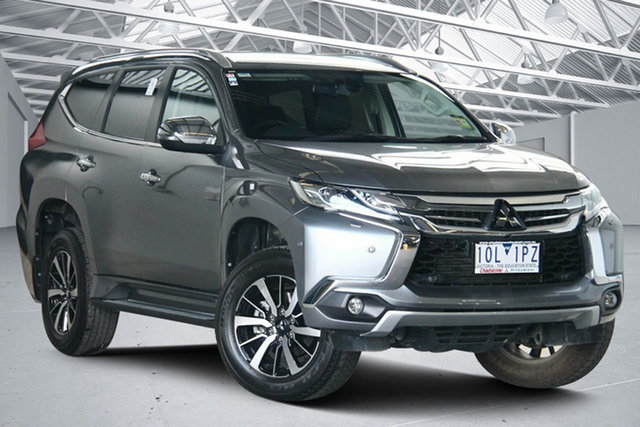 Used Mitsubishi Pajero Sport QE MY18 Exceed Altona North, 2018 Mitsubishi Pajero Sport QE MY18 Exceed Grey 8 Speed Sports Automatic Wagon