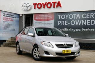 2009 Toyota Corolla ZRE152R Ascent Silver Pearl 4 Speed Automatic Sedan.
