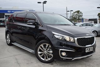2016 Kia Carnival YP MY17 Platinum Black 6 Speed Sports Automatic Wagon.