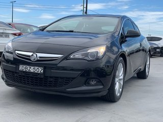 2015 Holden Astra PJ MY16 GTC Sport Black 6 Speed Manual Hatchback