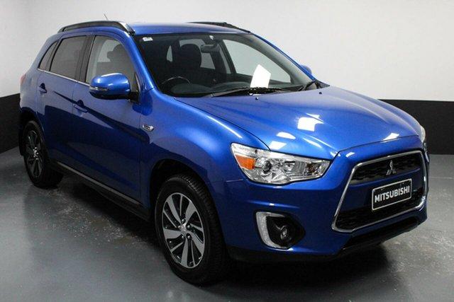 Used Mitsubishi ASX XB MY15 LS 2WD Rutherford, 2014 Mitsubishi ASX XB MY15 LS 2WD Blue 6 Speed Constant Variable Wagon