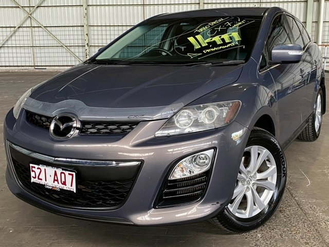 Used Mazda CX-7 ER10A2 Sports Rocklea, 2009 Mazda CX-7 ER10A2 Sports Grey 6 Speed Manual Wagon