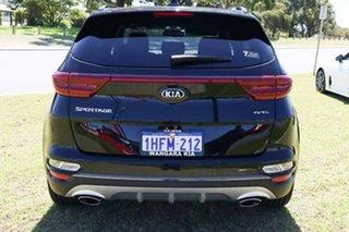 2021 Kia Sportage QL PE MY21 GT-Line (AWD) Black Cherry 8 Speed Automatic Wagon.