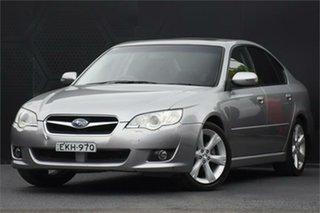 2007 Subaru Liberty B4 MY08 Premium AWD Silver 4 Speed Sports Automatic Sedan.