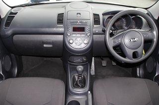 2012 Kia Soul AM MY13 Clear White 6 Speed Manual Hatchback