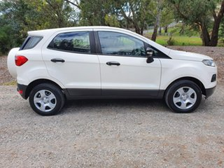 2015 Ford Ecosport BK Ambiente White Sports Automatic Dual Clutch Wagon.