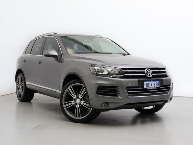 Used Volkswagen Touareg 7P MY14 150 TDI, 2014 Volkswagen Touareg 7P MY14 150 TDI Grey 8 Speed Automatic Wagon