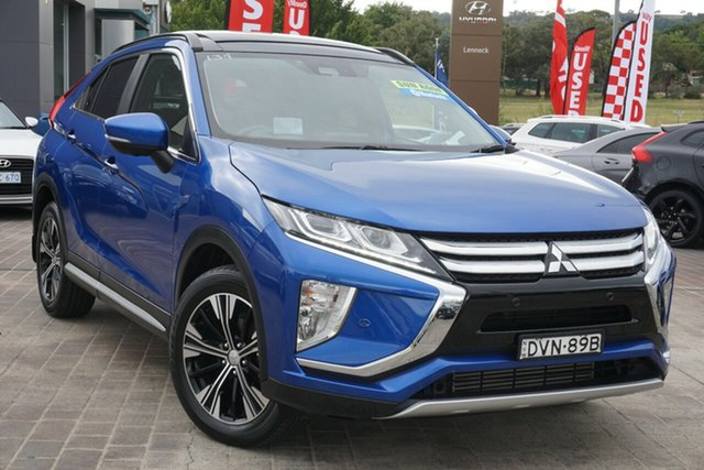 Used Mitsubishi Eclipse Cross YA MY18 Exceed 2WD Phillip, 2017 Mitsubishi Eclipse Cross YA MY18 Exceed 2WD Blue 8 Speed Constant Variable Wagon