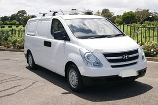 2012 Hyundai iLOAD TQ MY13 White 6 Speed Manual Van.