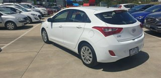 2017 Hyundai i30 GD4 Series II MY17 Active White 6 Speed Sports Automatic Hatchback