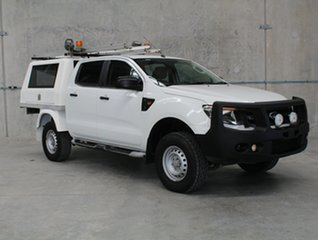 2012 Ford Ranger PX XL White 6 speed Automatic Cab Chassis.