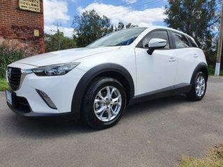 2016 Mazda CX-3 DK Maxx White Manual Wagon