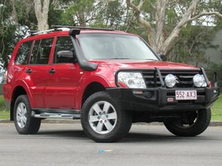2008 Mitsubishi Pajero NS GLX Red 5 Speed Sports Automatic Wagon.