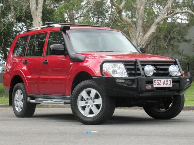 Used Mitsubishi Pajero NS GLX, 2008 Mitsubishi Pajero NS GLX Red 5 Speed Sports Automatic Wagon