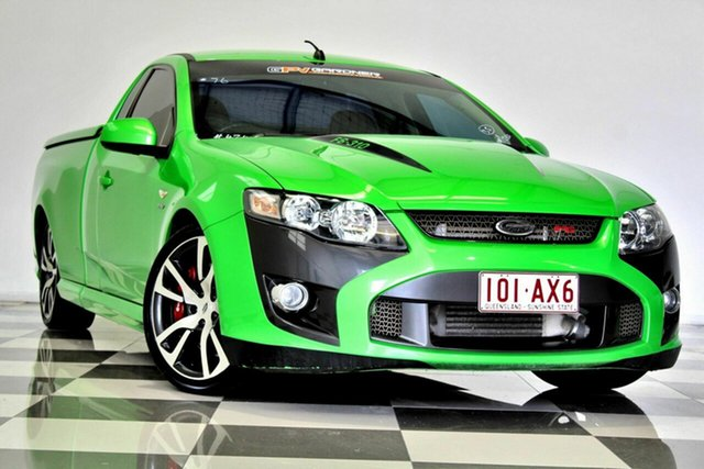 Used FPV F6 FG Burleigh Heads, 2009 FPV F6 FG Green 6 Speed Auto Seq Sportshift Utility