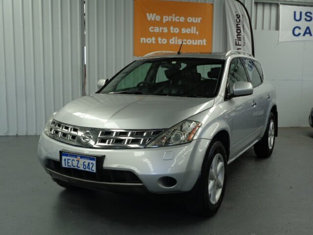 Used Nissan Murano Z50 TI Rockingham, 2007 Nissan Murano Z50 TI Silver 6 Speed Constant Variable Wagon