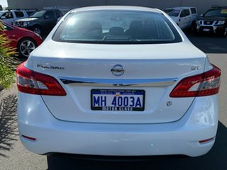 2016 Nissan Pulsar B17 Series 2 ST White 1 Speed Constant Variable Sedan.