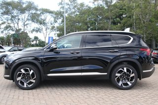 2020 Hyundai Santa Fe Tm.v3 MY21 Elite Phantom Black 8 Speed Sports Automatic Wagon