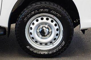 2015 Toyota Hilux GUN126R SR Glacier White 6 Speed Manual Cab Chassis