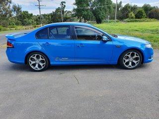 2010 Ford Falcon FG XR6 Blue Sports Automatic Sedan.