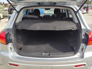 2012 Mitsubishi ASX XA MY12 2WD Silver, Chrome 6 Speed Constant Variable Wagon