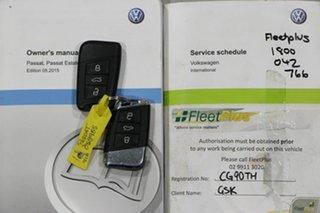 2016 Volkswagen Passat 3C MY16 132 TSI Silver 7 Speed Auto Direct Shift Wagon