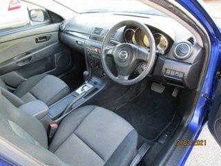 2008 Mazda 3 BK MY06 Upgrade Neo Blue 4 Speed Auto Activematic Sedan
