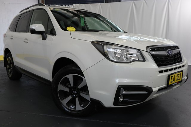 Used Subaru Forester S4 MY16 2.5i-L CVT AWD Castle Hill, 2016 Subaru Forester S4 MY16 2.5i-L CVT AWD White 6 Speed Constant Variable Wagon