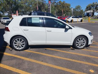 2014 Volkswagen Golf VII MY14 103TSI DSG Highline White 7 Speed Sports Automatic Dual Clutch