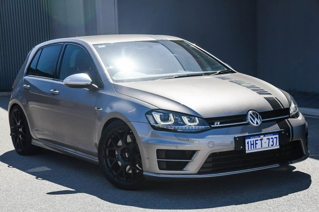 Used Volkswagen Golf VII MY14 R 4MOTION Osborne Park, 2014 Volkswagen Golf VII MY14 R 4MOTION Grey 6 Speed Manual Hatchback