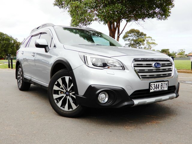 Used Subaru Outback B6A MY15 3.6R CVT AWD Glenelg, 2015 Subaru Outback B6A MY15 3.6R CVT AWD Silver 6 Speed Constant Variable Wagon