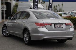 2012 Honda Accord 8th Gen MY12 Limited Edition Alabaster Silver 5 Speed Sports Automatic Sedan.