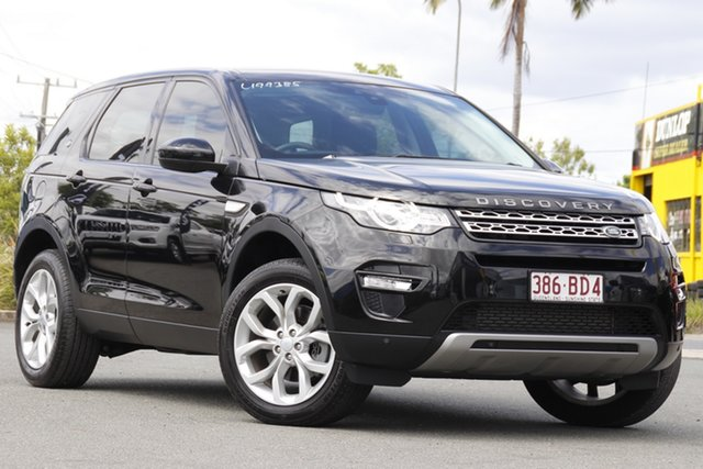 Used Land Rover Discovery Sport L550 16.5MY HSE Rocklea, 2016 Land Rover Discovery Sport L550 16.5MY HSE Santorini Black 9 Speed Sports Automatic Wagon