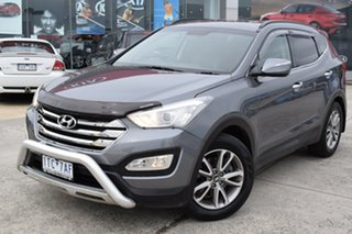 2014 Hyundai Santa Fe DM MY14 Elite Grey 6 Speed Sports Automatic Wagon.