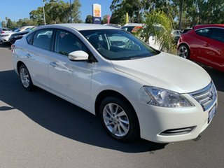 2016 Nissan Pulsar B17 Series 2 ST White 1 Speed Constant Variable Sedan