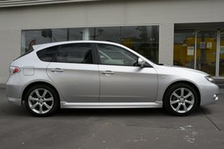 2010 Subaru Impreza G3 MY10 RS AWD Silver 4 Speed Sports Automatic Hatchback.