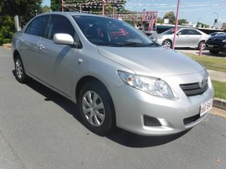 2009 Toyota Corolla Silver 6 Speed Manual Sedan.